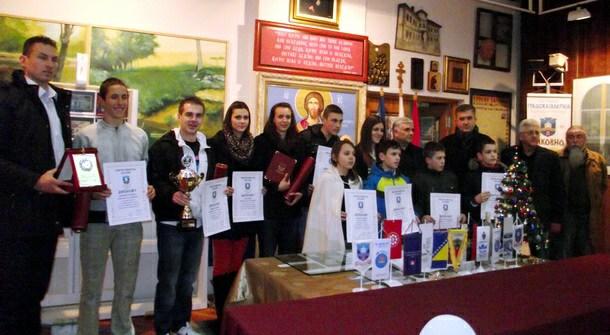 Nagrađeni sportisti - Višegrad 2013