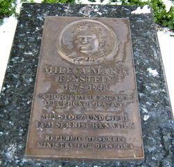 Grob Mileve Marić
