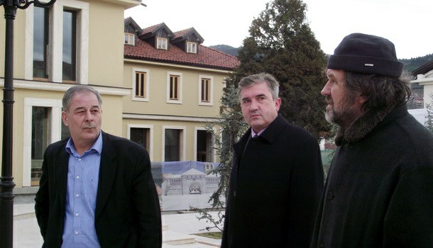 Rukovodioci HE na Drini u Andrićgradu