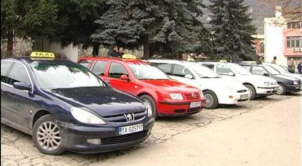 Taksisti u Foči