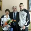 Nikola Poluga i Danka Gavrilović sa načelnikom