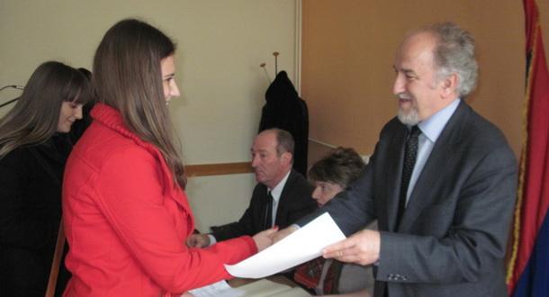 Potpisivanje stipendija Foča
