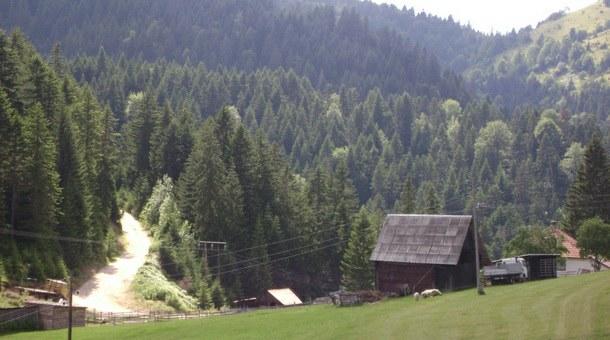 Selo Bakić u okolini Foče