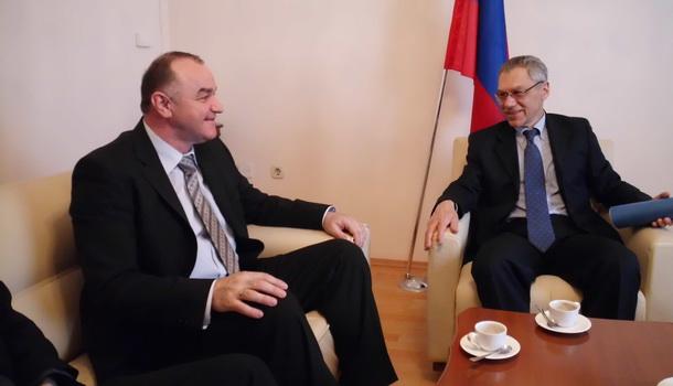 Ambasador Rusije sa načelnikom Rogatice