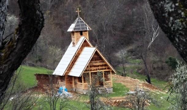 Crkva brvnara u Višegradu