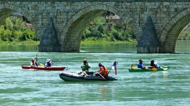 Kajak-kanu regata u Višegradu