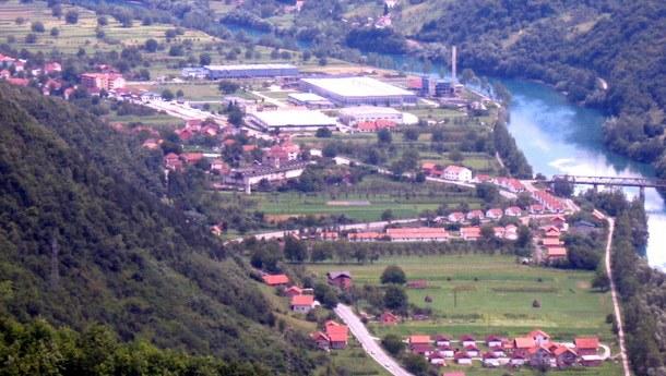 Novo Goražde panorama