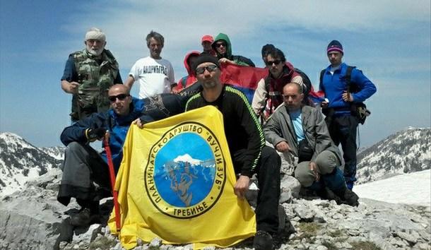 Planinari na Orjenu