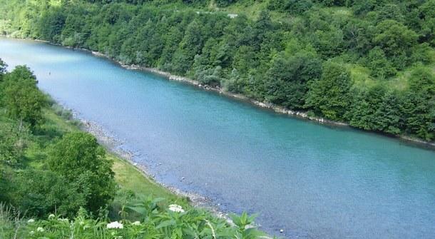 Rijeka Drina u Foči