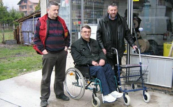 Rogatica-Nova kolica Zoranu Trifunoviću