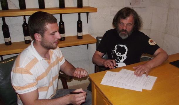 Vasilije Šipčić i Emir Kusturica