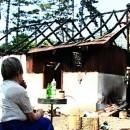 Izgorjela kuća Jevte Gogića