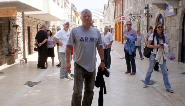 Miroslav Lazanski u Andrićgradu