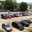 Parking na trgu u Višegradu