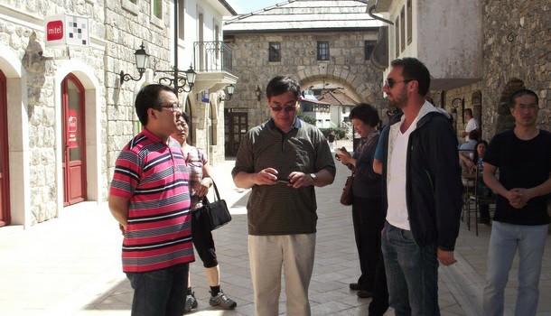 Kineski ambasador u Andricgradu