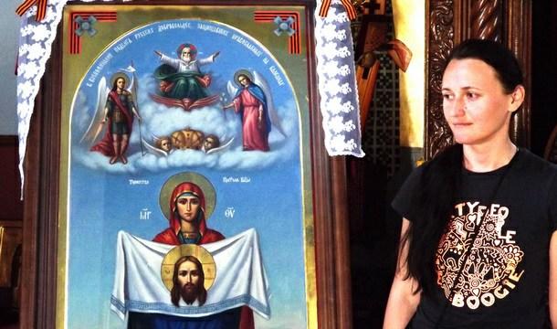 Natalija Batarjeva donijela ikonu u Višegrad