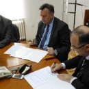 Potpisivanje protokola - Tomislav Puhalac