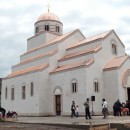 Prva liturgija u crkvi u Andrićgradu