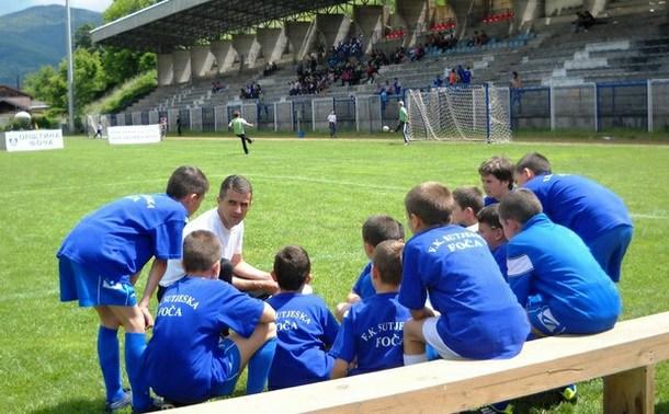 Skola fudbala u Foči