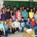 Snežana Pjevčević sa učenicima