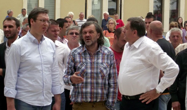 Aleksandar Vučić u Andrićgradu