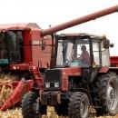 Kombajn i traktor