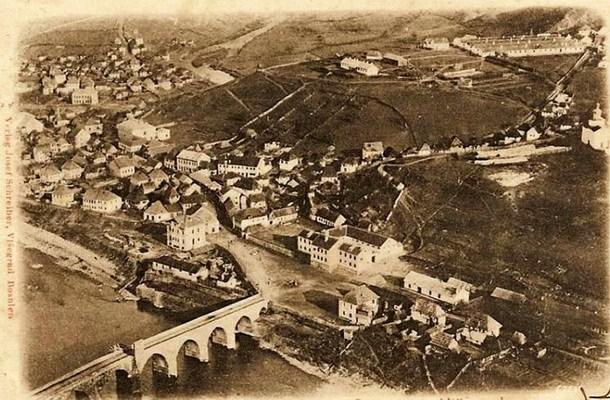 Panorama Višegrad prije 100 godina
