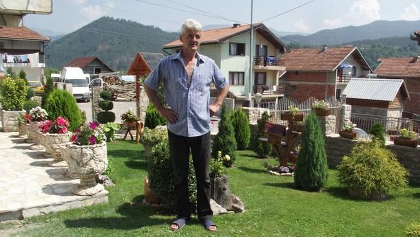 Predrag Ristović-dvorište