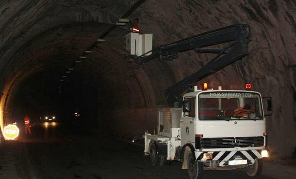 Rasvjeta u tunelu u Nezucima