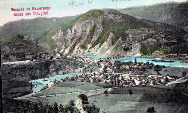Slika Višegrada iz 1908. godine