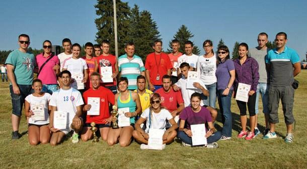 Atletičari na Ravnoj Romaniji