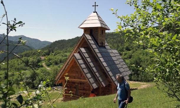 Crkva u Bijeloj kod Višegrada