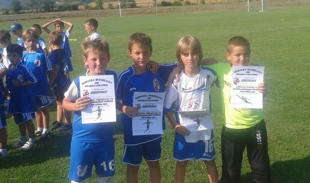 Fudbalske nade 2005 u Rogatici - najuspjesniji