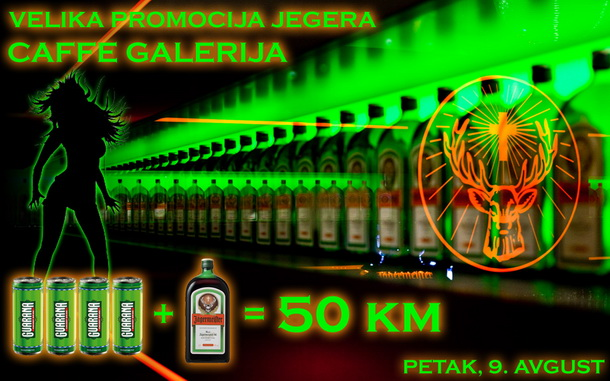 Jeger Party - caffe Galerija