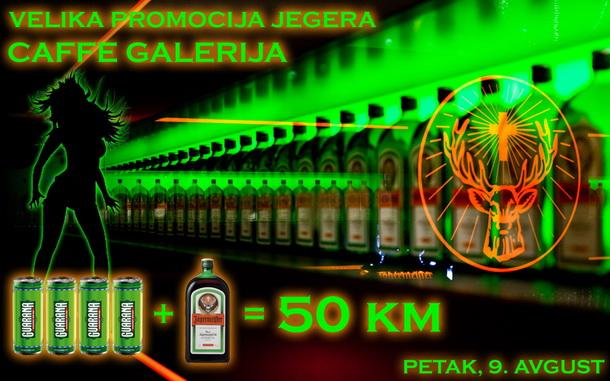 Jeger Party - caffe Galerija