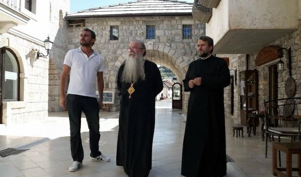 Vladika Hrizostom u Andrićgradu