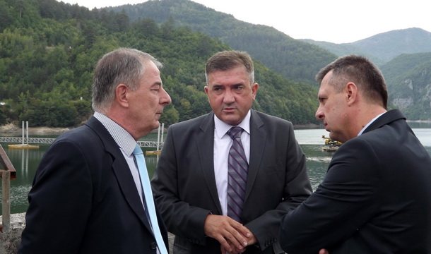 Mile Perić, Mile Lakić i Igor Radojičić