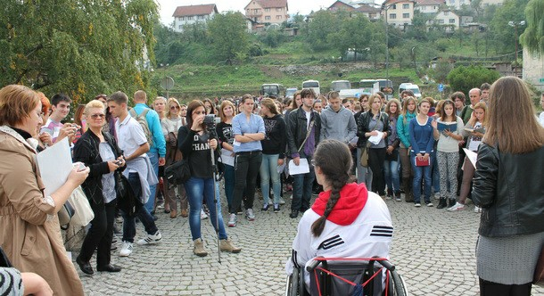 Učenici iz Sombora na ćupriji