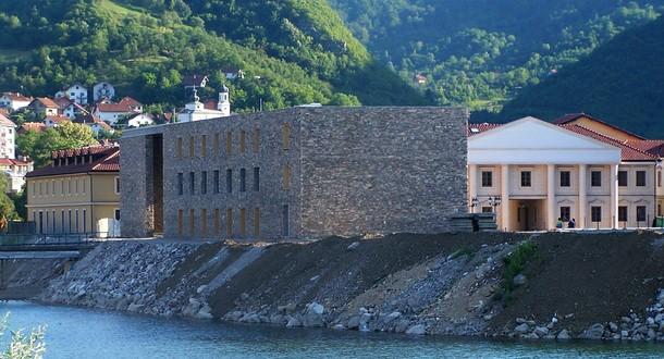 Zgrada HE na Drini u Andrićgradu