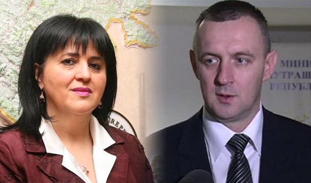 Ministri Golić i Jovičić