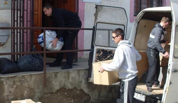Prikupljanje odjeće u Foči