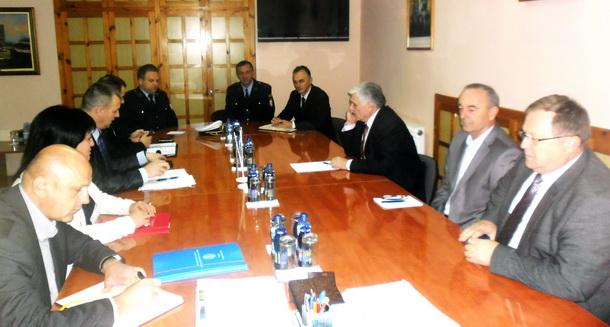Radislav Jovičić i Srebrenka Golić u Višegradu