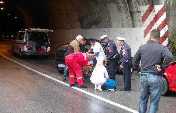 Saobraćajna nesreća u Ustiprači