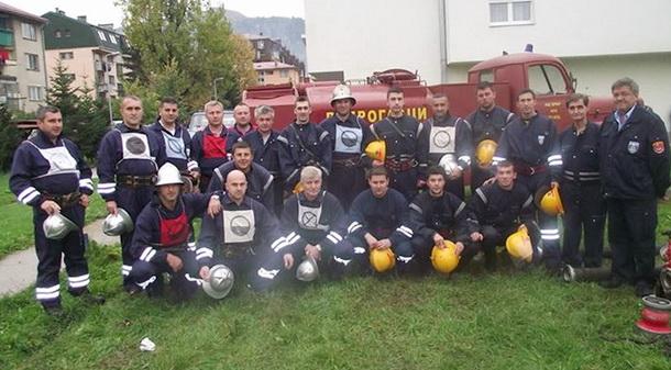 Vatrogasci u Foči