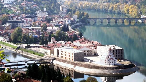 Višegrad-Andrićgrad panorama