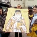 Ikona svetog Nektarija Egiskog u Rogatici