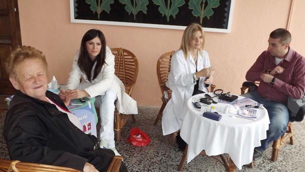 Kontrola dijabatese u Višegradu