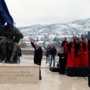 Matija Bećković otkriva spomenik