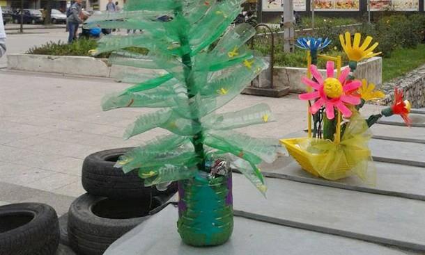 Reciklaža na Trgu u Foči