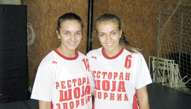 Rukometašice Tatjana i Anđela Delić